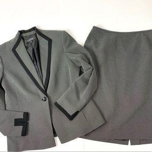 Vintage two piece skirt suit set